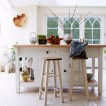 Cream Shaker-style country kitchen