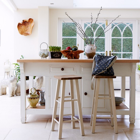 Cream Shaker style country kitchen  Kitchen decorating  housetohome