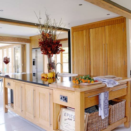 Kitchen Island Unit Country Kitchen Ideas Housetohome