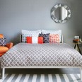 Bold geometric bedroom - 10 ideas from Lenor