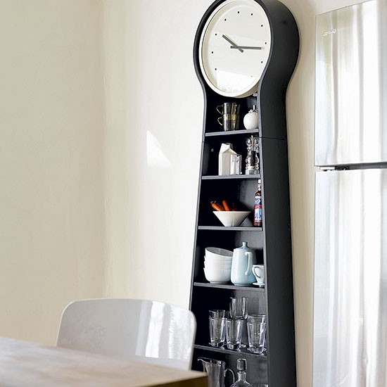 Tall Freestanding Kitchen Shelf Unit Shelving