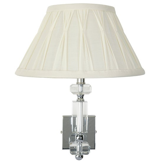 Paloma wall light from Laura Ashley Statement wall lights housetohome.co.uk
