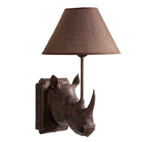 Rhino wall light from Graham and Green Statement wall lights housetohome.co.uk