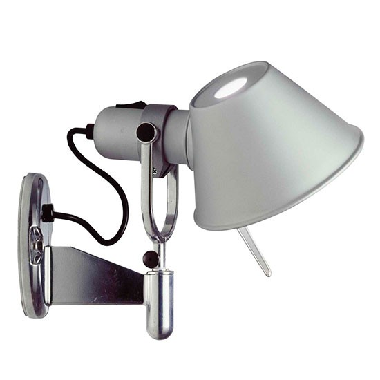 Tolomeo Wall Lamp Bedroom : Tolomeo Faretto wall lamp from Aram Store Statement wall lights housetohome.co.uk