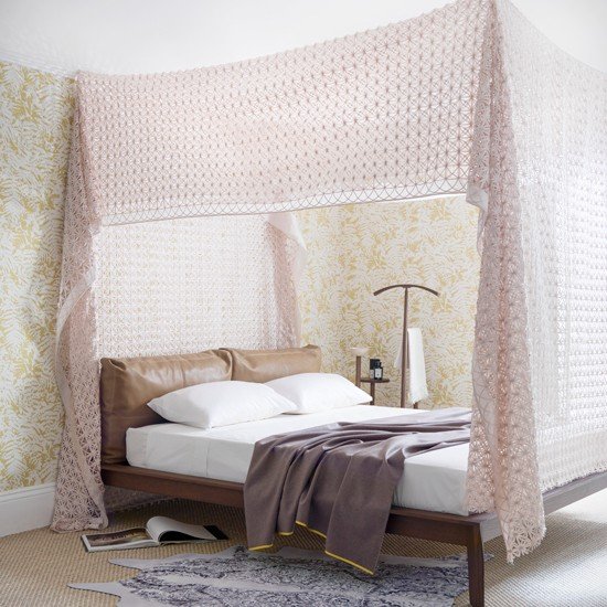 Girls Bedroom Wallpaper Pink Neutral Bedroom Colors For Kids Bedroom Layout Ideas Bedroom Cupboards For Small Rooms: Pastel Pink Bedroom With Bed Canopy