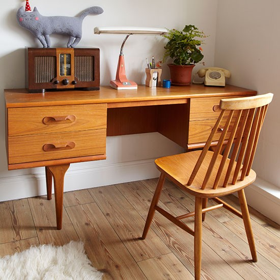 retro home office home office decorating style at home