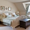 Cream French country bedroom