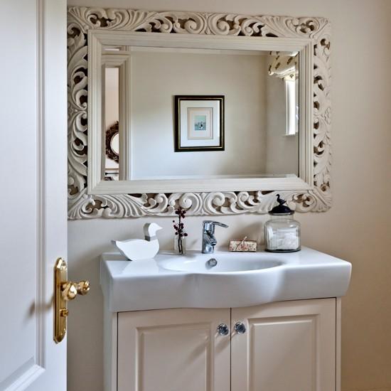 Ideas Para Decorar Un Baño Pequeno:Country Bathroom Mirrors