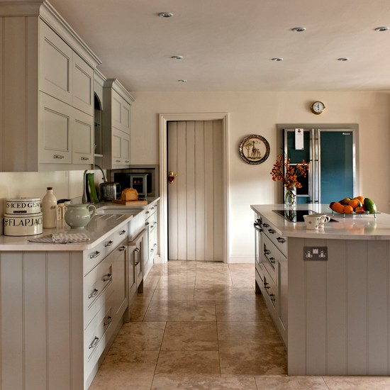 Grey Shaker Kitchen Housetohomecouk