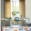 Bright country dining room