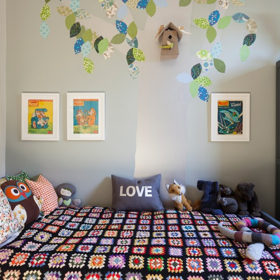 Characterful children 39 s room childrens room decorating ideas - Childrens bedroom decorating ideas ...