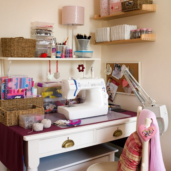 Sewing station | home office ideas | PHOTO GALLERY | Style at Home | Housetohome