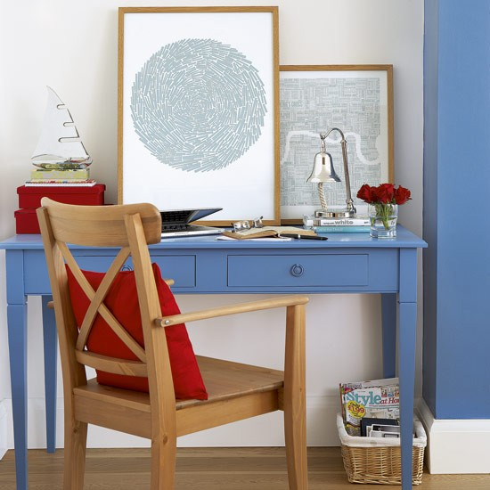 Bright and breezy office | home office ideas | PHOTO GALLERY | Style at Home | Housetohome