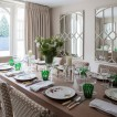 Traditional relaxed dining room