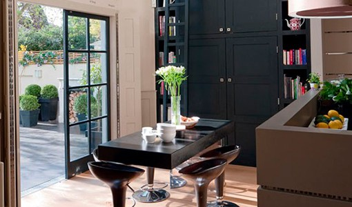 Step inside a spacious London town house