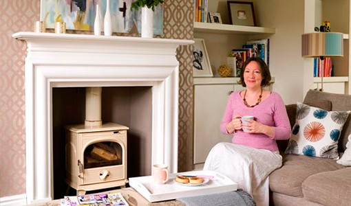 Discover Sarah's pretty home, with its timeless neutral colour scheme