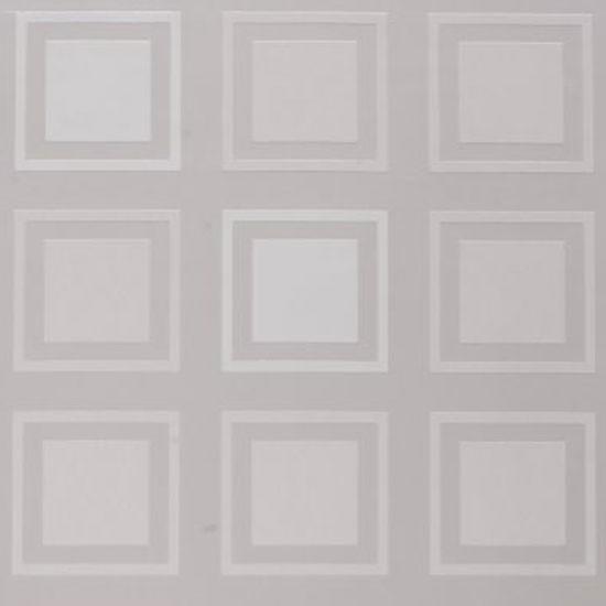 Cube paste the wall wallpaper by Kelly Hoppen at B&Q | Modern wallpaper | PHOTO GALLERY | Livingetc | Housetohome.co.uk