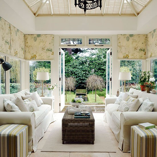 Photo Orangery Interior Design Ideas Images Modern Conservatory
