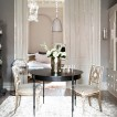 Elegant cream dining room