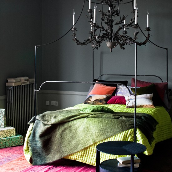 charcoal and green bedroom bedroom decorating ideas
