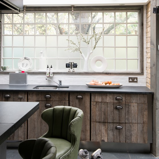 Reclaimed Wood Kitchen Kitchen Decorating Ideas