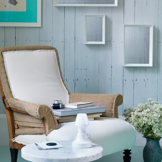 Chalky White And Mint Living Room Living Room Decorating Ideas