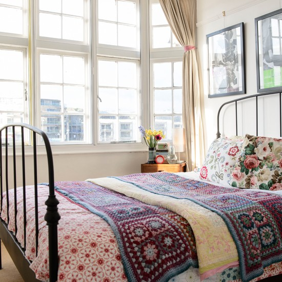 Floral And Crochet Bedroom