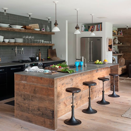 Kitchen | American beach house | House tour | PHOTO GALLERY | Livingetc | Housetohome.co.uk