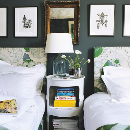 Guest bedroom | west London home | House tour | PHOTO GALLERY | Livingetc | Housetohome.co.uk