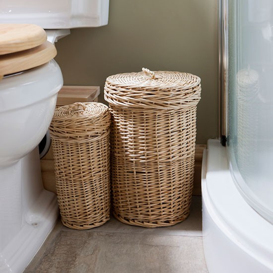 wicker laundry baskets be inspired by this rustic