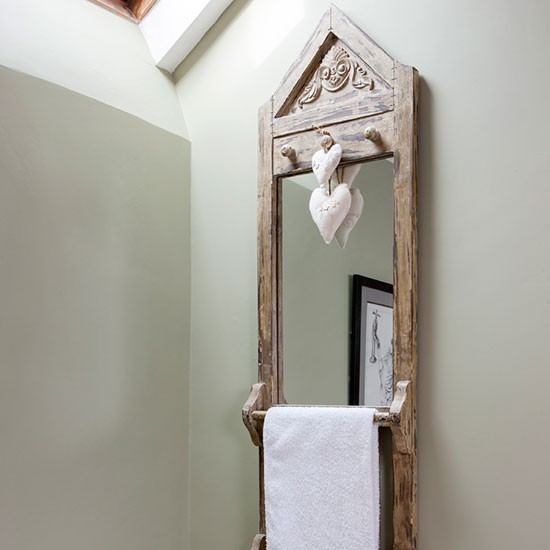 Rustic Bathroom Mirror Be Inspired By This Rustic Country Bathroom Makeov