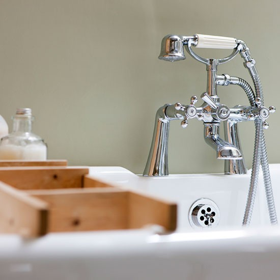 Traditional Taps Be Inspired By This Rustic Country Bathroom Makeover H