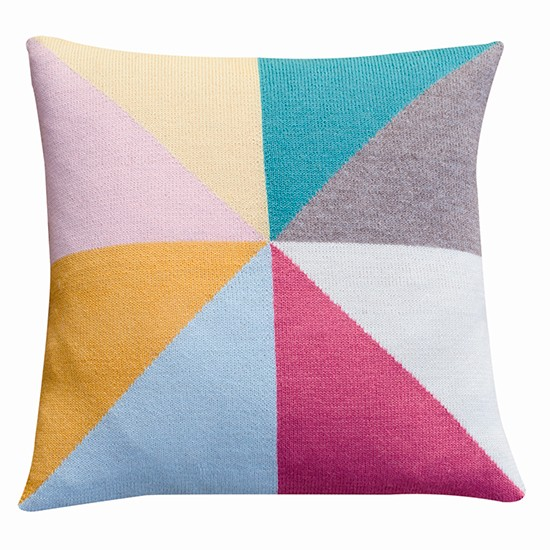 luckyboysunday cushion by the kid who 1950s pastel