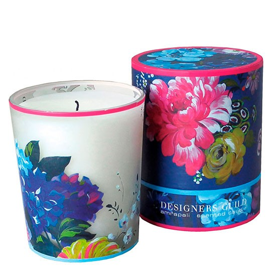 Designers Guild Floral candle from Occa Home | Summer floral ...