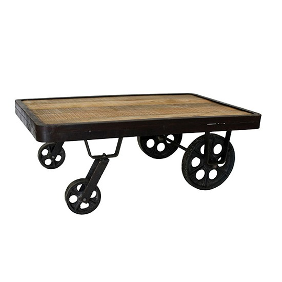 Industrial Coffee Table Ideas: Industrial Chic Design Ideas - Home Trends