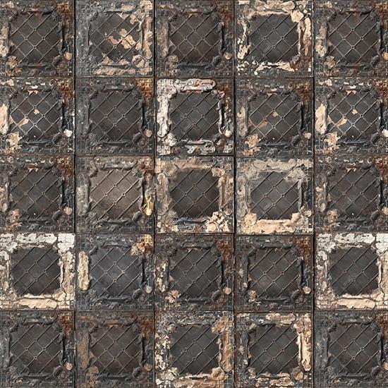 Brooklyn Tin Tiles Wallpaper From Rockett St George