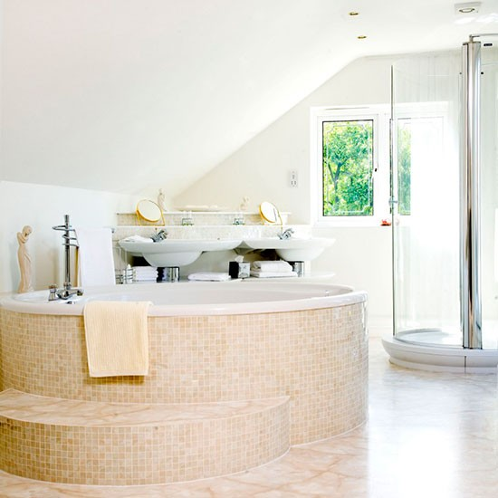 Spa like bathroom hotel style bathrooms ideas for Hotel bathroom design ideas