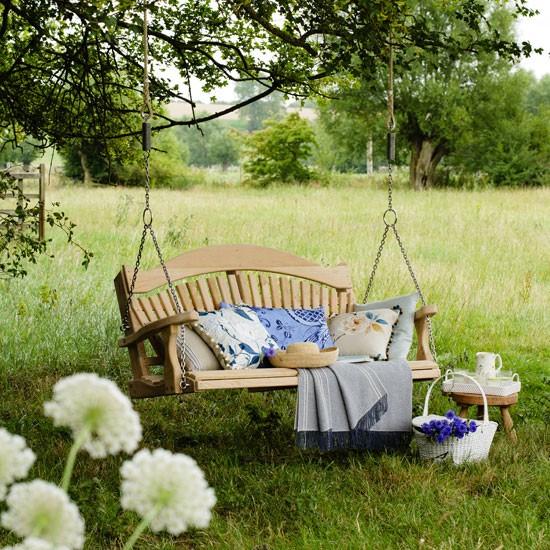 Swing Seat Country Garden Ideas Housetohomecouk