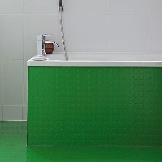 Bright green bathroom take a look inside this 1930s semi for Bathroom ideas 1930s semi
