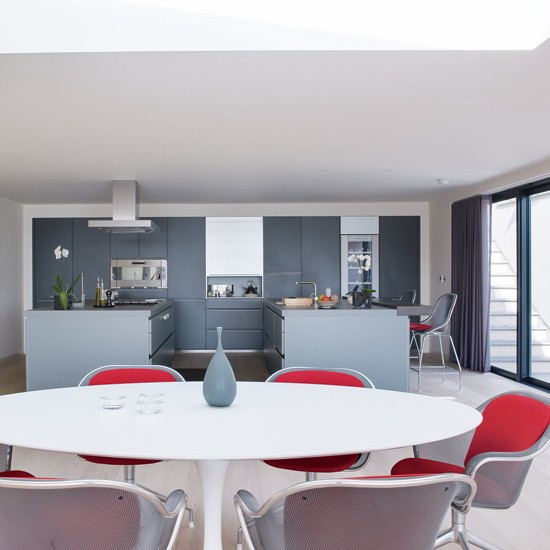 images of red and gray dining - #sc