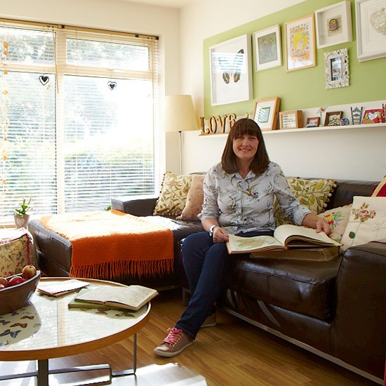 1960s Inspired Living Room Take a tour around a stylish 1960s terrace