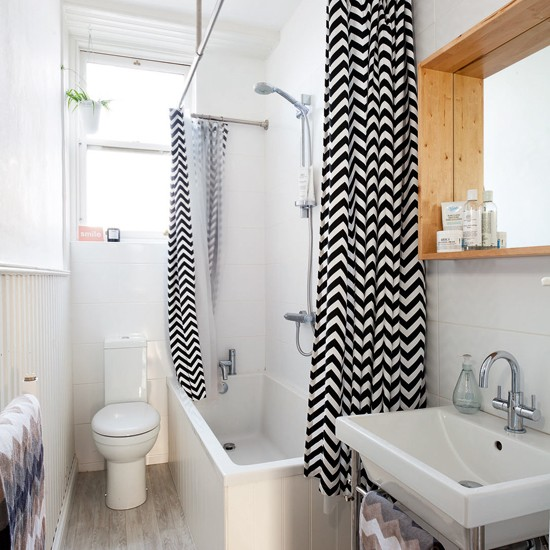 white bathroom with black shower curtain bathroom decoration ideal