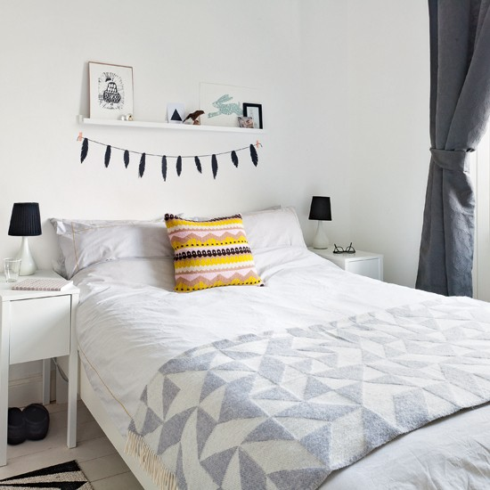 white and grey bedroom bedroom decoration