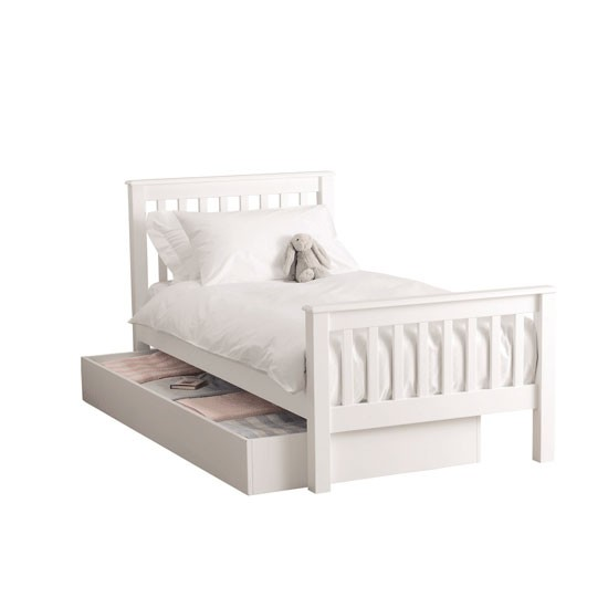 Classic Single Bed And Classic Truckle Bed From The White