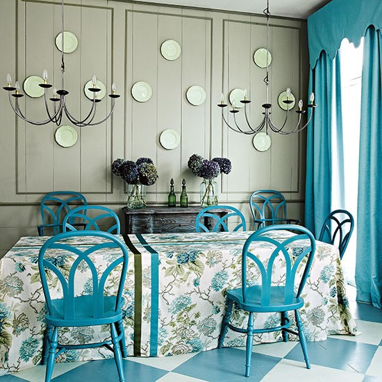 Rhapsody in blue | How to decorate with blue | PHOTO GALLERY | Homes & Gardens | housetohome.co.uk