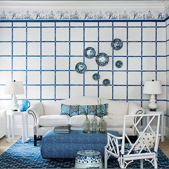 China blue | How to decorate with blue | PHOTO GALLERY | Homes & Gardens | housetohome.co.uk