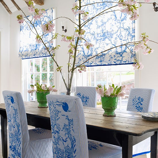 Toile de Jouy | How to decorate with blue | PHOTO GALLERY | Homes & Gardens | housetohome.co.uk