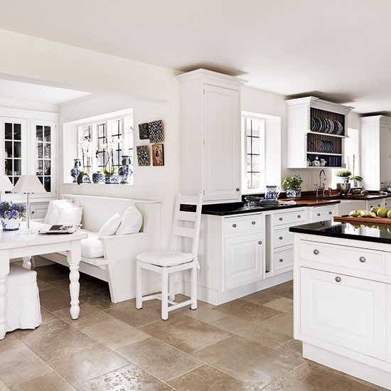 White Painted Kitchen-diner
