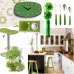Hit-of-green kitchen