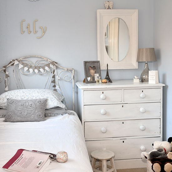 Girl's bedroom | New England-style home | House tour | PHOTO GALLERY | Ideal Home | Housetohome.co.uk
